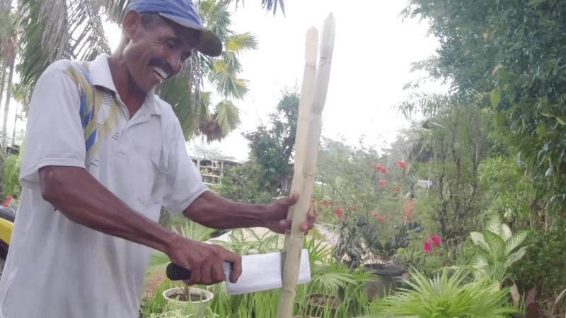 Pak De Penjual Air Tebu dan Cita-citanya Membangun Warung