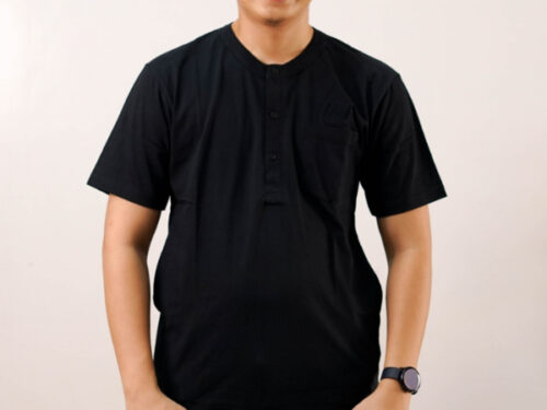 Gamis Men Black