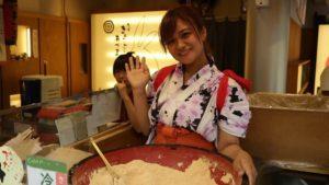 Japanese Mochi Street Food