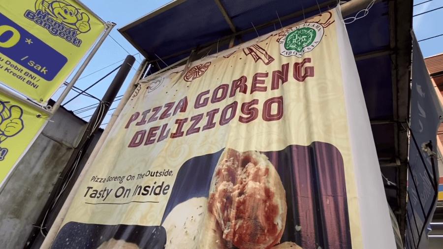 Kroket Goreng Rasa Pizza
