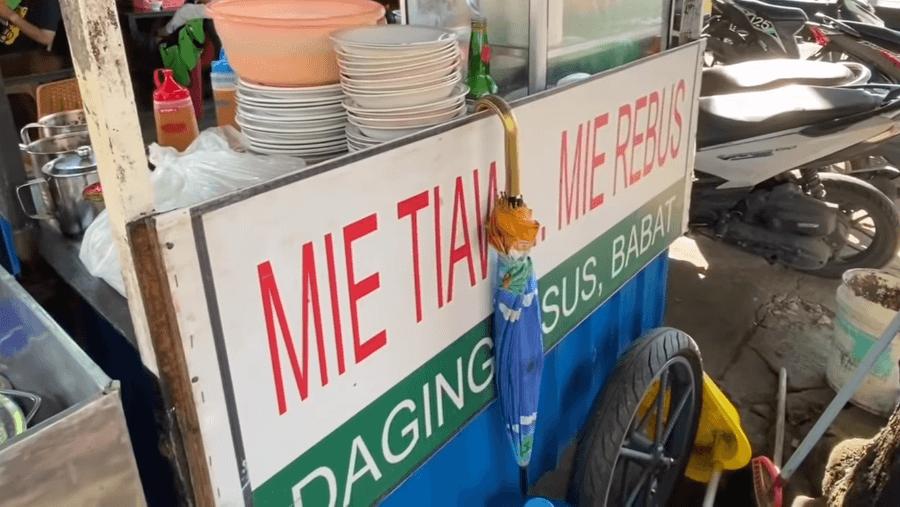 Mie Tiaw Mie Rebus