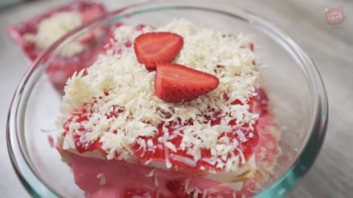 Setup Roti Strawberry