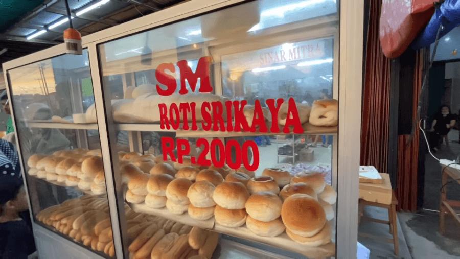 Roti Srikaya Asli Singkawang