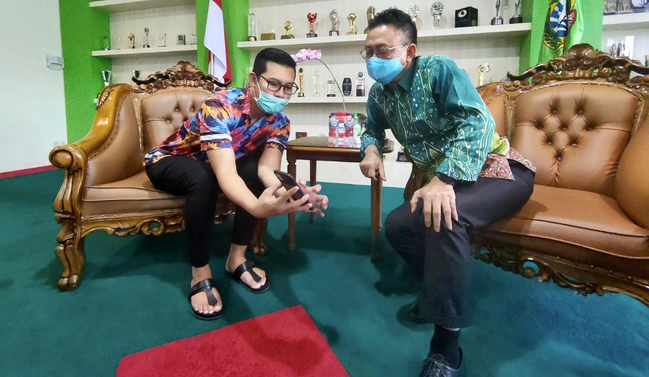 Bang Evan Ngevlog Bareng Wali Kota Pontianak, Bangun Optimisme Pelaku UMKM