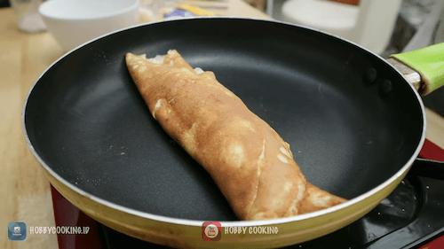 Telur Omelet Mozarella