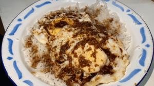 Nasi Goreng Telur Kancai