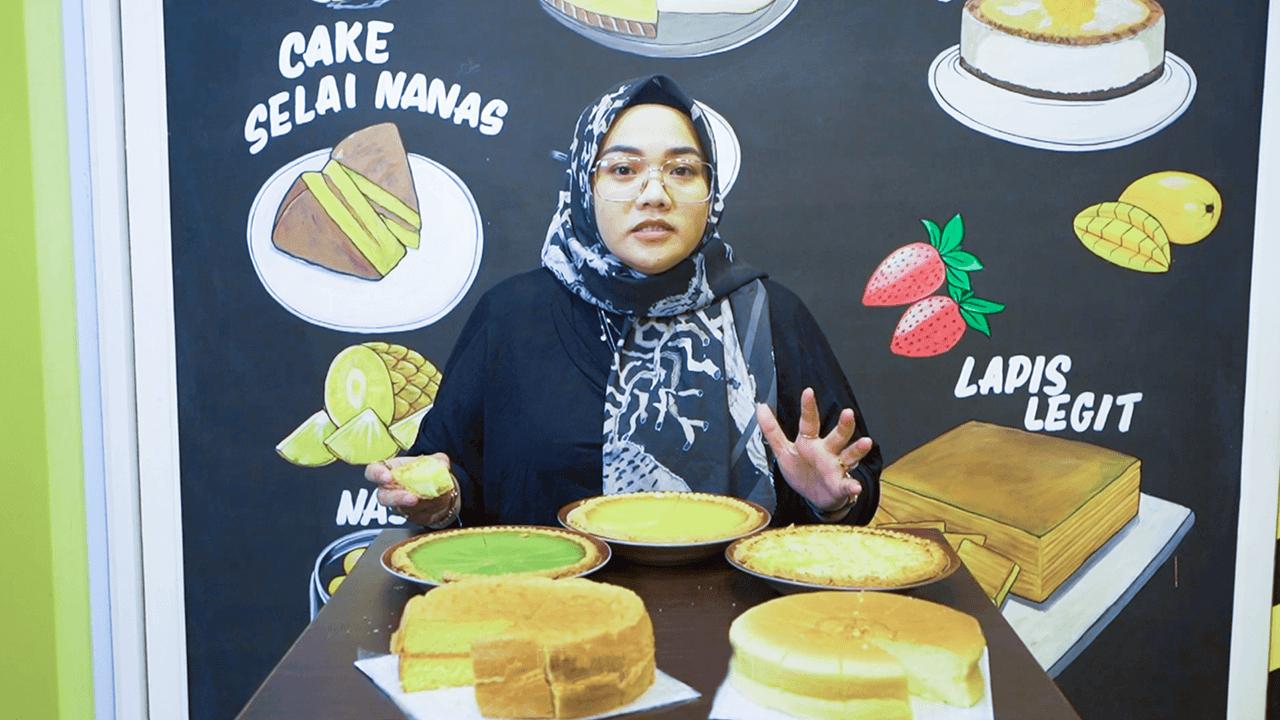 Tar Susu Deno's Cake