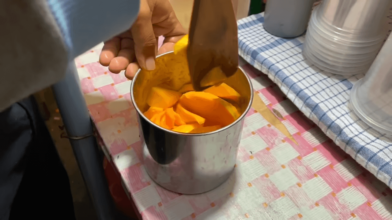 Mangga Kocok Topping Meluber