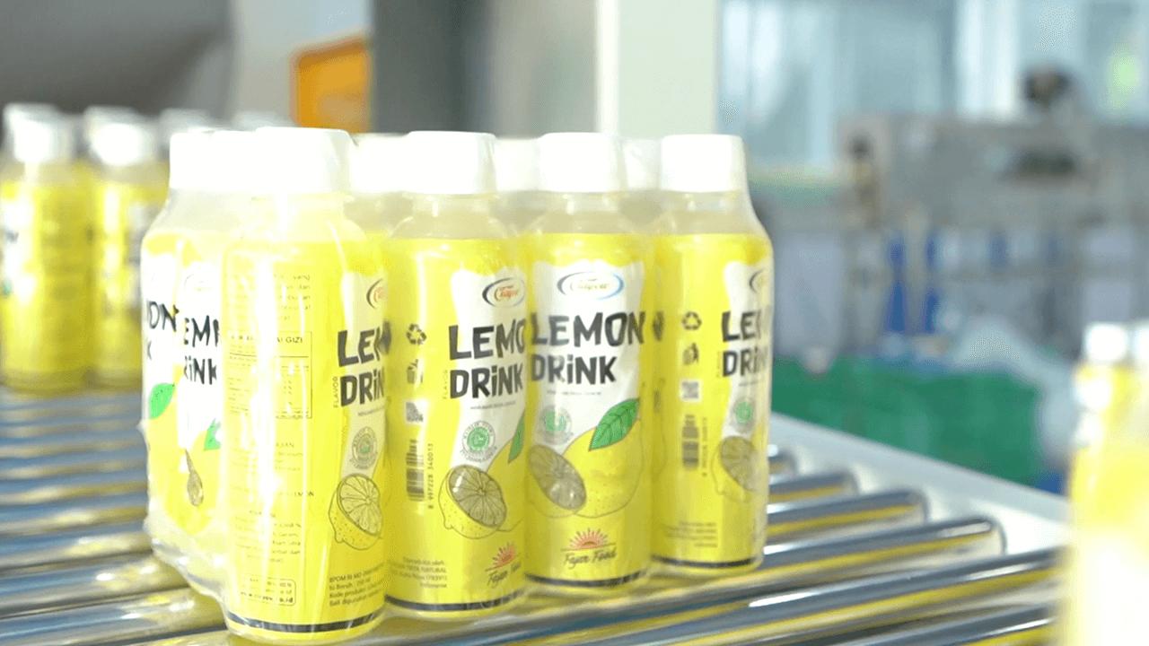 Minum Ciayow Lemon Drink