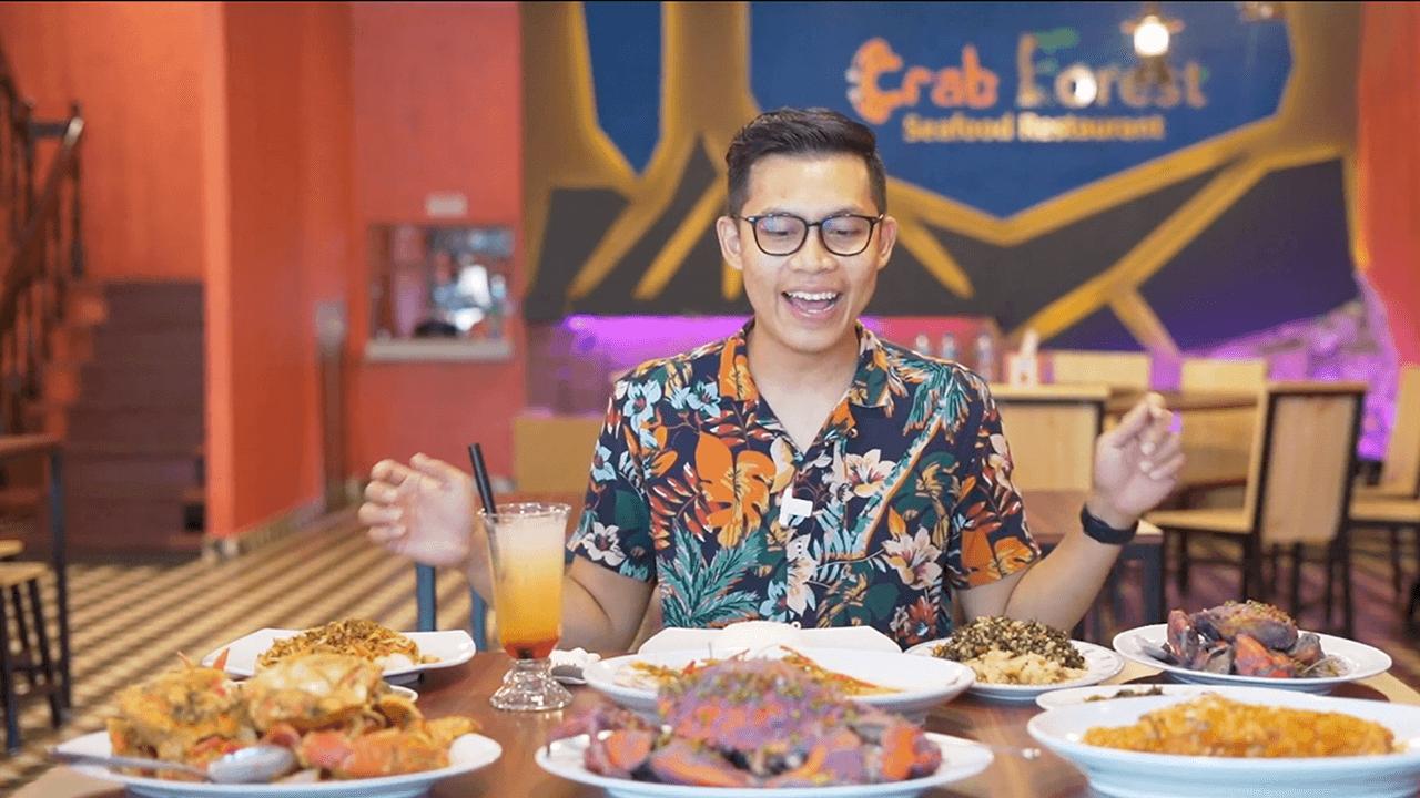 Seafood Kepiting Bumbu Ungu