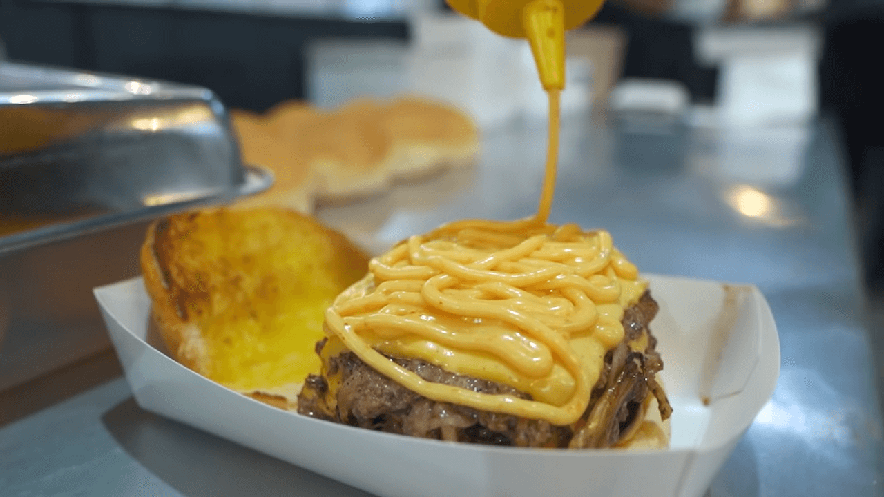 Tempat Baru Zip Burger
