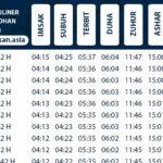 Jadwal Imsakiyah Wilayah Pontianak