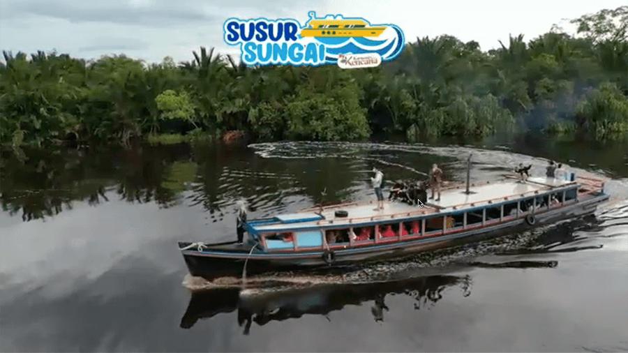 Berlayar dan Makan Sepuasnya di Sungai Amazonnya Borneo!