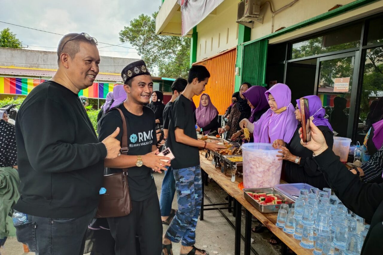 Ada Rumah Makan Gratis di Pontianak, Aditya Prayoga Hadir Langsung!